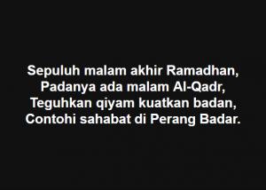 Pantun Ramadhan 10